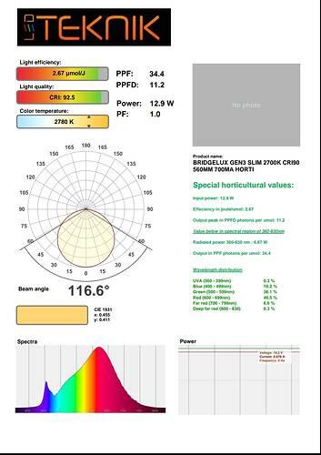 EB3 90cri 2700k Slim 2ft 12.9w test