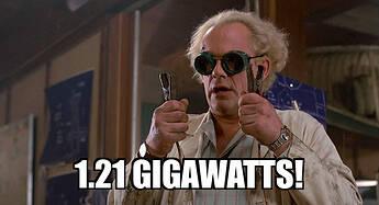 121-gigawatts