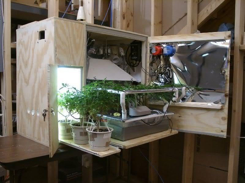 Marijuana Stealth Grow Cabinet
